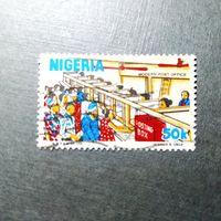 Марка Нигерия 1983 год Почтовые услуги