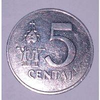 5 центов 1991 г. Литва