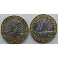 10 франков 1988, 89 Франция