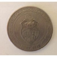 1 динар 1997 Тунис