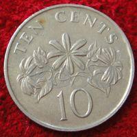 7517:  10 центов 1988 Сингапур