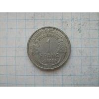 Франция 1 франк 1959г.km885a.1