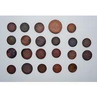 Лот монет РИ (22 штуки).1.