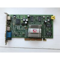 Видеокарта с видео захватом Sapphire Radeon 9000SE 64 Mb AGP 8X/4X TV in/out d-sub