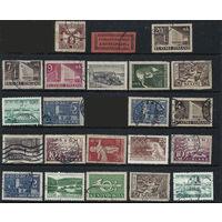 Набор марок Финляндия 22шт. \3а\