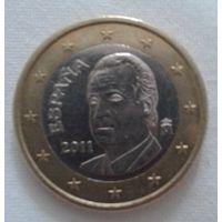 1 евро, Испания,2011