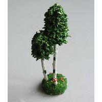 Дерево для ж-д макета производство ГДР вид 2