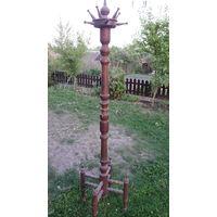 Вешалка довоенная деревянная.