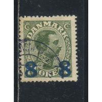 Дания 1921 Кристиан X Надп Стандарт #113