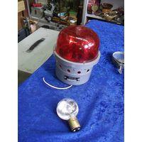 Маяк сигнальный авиационный ламповый МСЛ-3(+ запасная лампа).