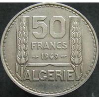 1к Алжир 50 франков 1949 распродажа коллекции
