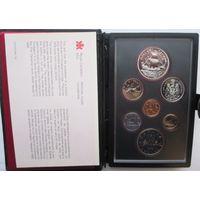 Канада, набор, 1979, серебро