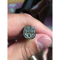 Старая шляхетская гербовая печать! Редкость!