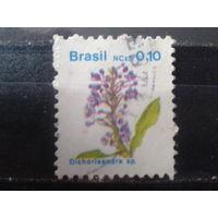 Бразилия 1989 Стандарт, цветы 0,10