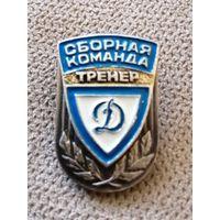 Сборная команда Динамо. Тренер.