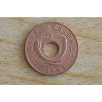 Восточная Африка 5 центов 1943  SA