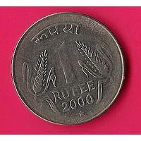 39-36 Индия, 1 рупия 2000 г.