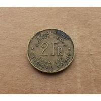 Бельгийское Конго, 2 франка 1946 г.