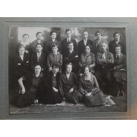 ФОТОГРАФИЯ КОЛЛЕКТИВ ХБР. Ж/Д. ШКОЛЫ Г. ХАБАРОВСК 1928 ГОД.