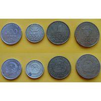 Вьетнам набор 500, 1000, 2000, 5000 донг 2003г. последняя эмиссия