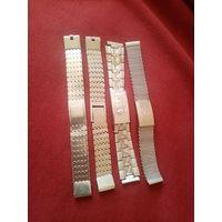Браслеты для часов СССР, в отличном состоянии, распродажа коллекции (с рубля) ТРИ ДНЯ