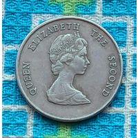 Восточные Карибские острова. Карибы 25 центов 1997 года. Корабль. Инвестируй в коллекционирование!