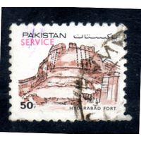 Пакистан.  Mi:PK 622. Форт Хайдерабад . Серия: Крепости Пакистана. 1984.