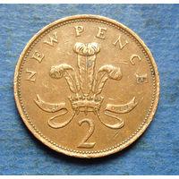 Великобритания 2 пенса 1981