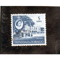 Тринидад и Тобаго. Ми-174. Уайтхолл. г.Порт оф Спейн. 1960.