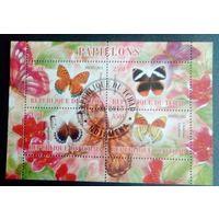 Чад 2103 Фауна Бабочки