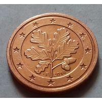 2 евроцента, Германия 2014 F, AU