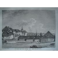 Офорт Вид на Бремгартен. 1780-е годы. #3/1