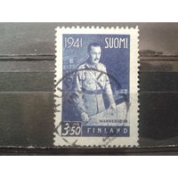Финляндия 1941 маршал Маннергейм 3,5м