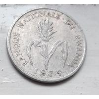 Руанда 1 франк, 1974  1-4-21