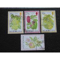 Бермудские острова 1994 г. Цветы.