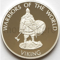 Конго 10 франков 2009 года. Викинг (Proof)