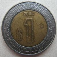 Мексика 1 песо 2004 г. (g)