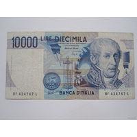 10000 Лир 1984 (Италия)