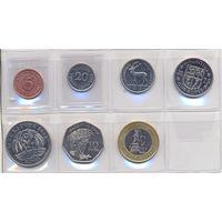 Маврикий комплект монет (7шт.) 2000-2012гг. скидки .