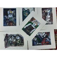 Вл. Акулов. Коллекция живописи 2007 года. 6 работ. Полный размер 43х31.
