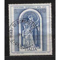 Искусство. Скульптура. Джакомо Серпотта. Италия. 1976. Полная серия 1 марка
