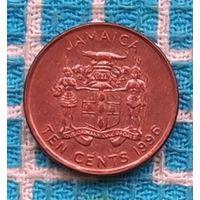 Ямайка 10 центов 1996 года. Инвестируй выгодно в монеты планеты!