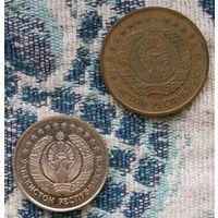 Узбекистан 5 и 10 тийин 1994 года. Инвестируй в коллекционирование!