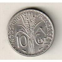 Французский Индокитай 10 сантим 1940