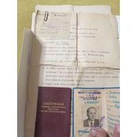 Комплект документов. Гродно. Вторая Мировая война. Войско Польское. Поляк.