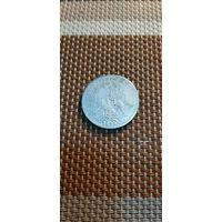 Германия 1 марка 1875 Е