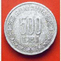 19-06 Румыния, 500 лей 1999 г.