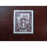 Саар 1949 Земли Германии Saar** - 1 шт