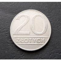20 злотых 1989 Польша #12