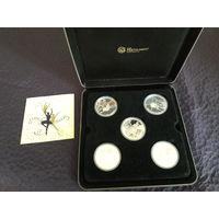 "Набор монет ""Знаменитые балерины"" 2010г.Австралия.Тираж 2500 (1.1$ ЗА ГРАММ!)"